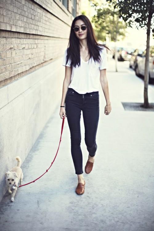 Jessica Mau, blogger, White T-shirt, tshirt, tee shirt, actress, model, singer, hot, celebrity