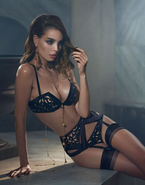 Agent Provocateur, Ordella, model, sexy, hot, lingerie