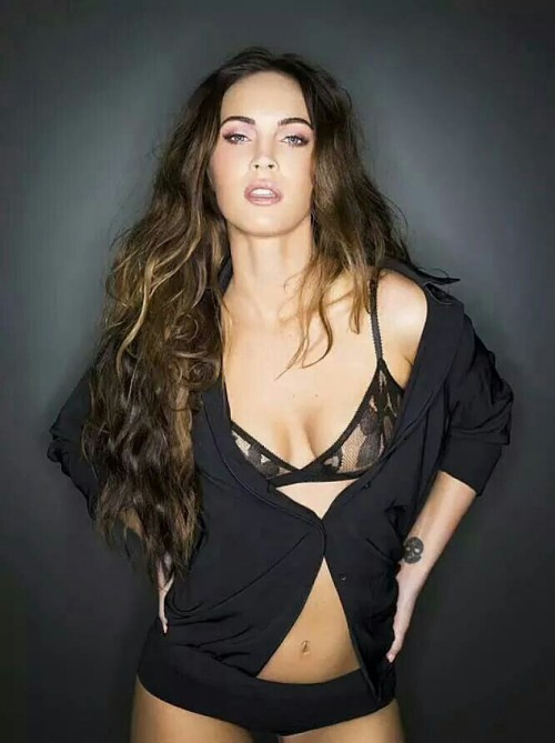 Megan Fox, Lingerie, sexy, hot, brunette, actress, hollywood