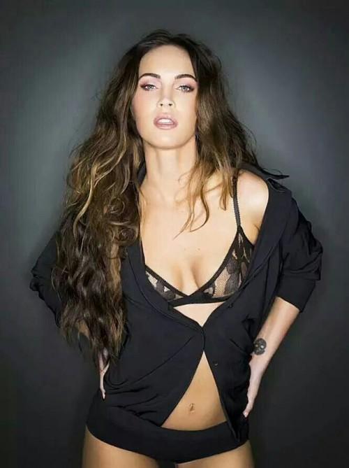 Megan Fox, Lingerie, sexy, hot, brunette, actress, hollywood