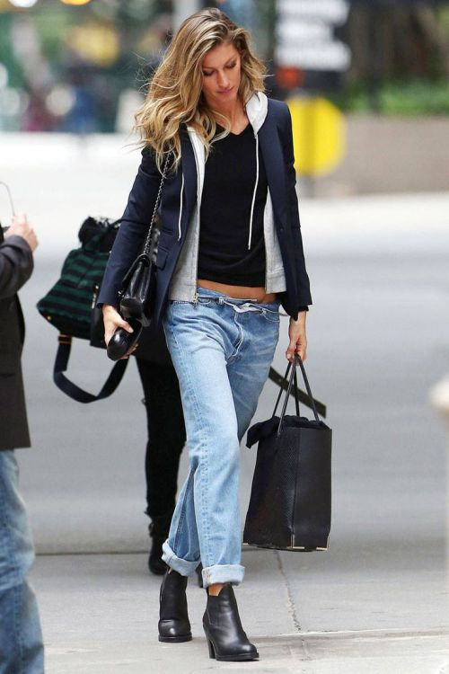 Gisele Bundchen, Actress, Singer, Blue Jeans, Denim