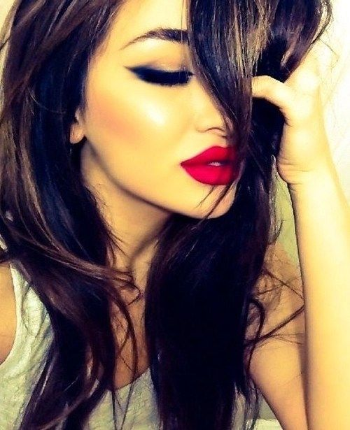 Glamour Models, red lips, red lipstick, sexy, actress, model, top model, hollywood, fashion, make up, Dresslikeabitch.com, dress like a bitch