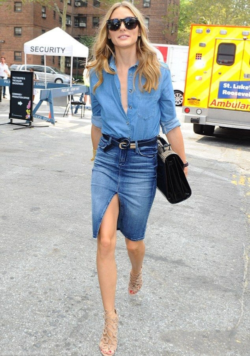 Zosia Russell Mamet, Actress, Singer, Blue Jeans, Denim