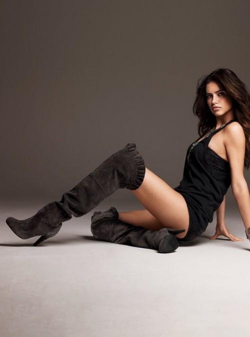 Adriana Lima. High Boots