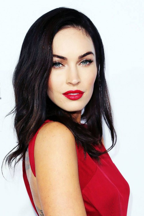 Megan Fox, red lips, red lipstick, sexy, actress, model, top model, hollywood, fashion, make up, Dresslikeabitch.com, dress like a bitch